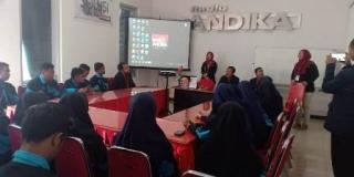 Kunjungan SMK Kusuma Negara Kertosono, Nganjuk