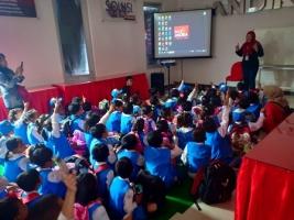 Kunjungan TK Dharma Wanita Kelurahan Tamanan