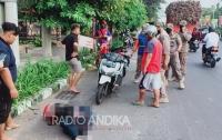 Tabrak Trotoar, Pengendara Motor di Kota Kediri Meninggal