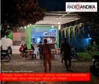 Buka Hingga Larut Malam, Angkringan Kota Kediri Terancam Ditutup Satpol PP