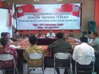 KPUD Kabupaten Kediri Gelar Rapat Koordinasi Dengan Instansi Pemerintah