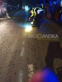 Kecelakaan Mobil Dan Motor Di Mojo, Seorang Meninggal