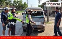 Tertabrak Mobil Saat Menyeberang Jalan, Pejalan Kaki Di Ngunut Meninggal