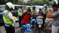 Polres Kediri Kota, Lakukan Sidang Ditempat, Dalam Operasi Zebra 2014