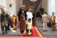 Presiden Joko Widodo Kenakan Pakaian Adat Bali
