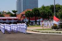 HUT Ke-74 RI, Gubernur Jatim Berpesan Promosikan Keunggulan Daerah Untuk Memajukan Indonesia
