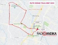 Bus Tabrak Sepeda Motor di Bandar Ngalim Kediri, Seorang Ibu Meninggal