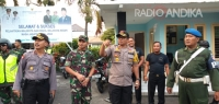 Patroli Gabungan, Datangi Obyek Vital Kota Kediri