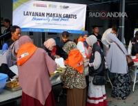 Humanity Food Truck ACT, Gelar Makan Bersama Jamaah IKADI