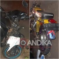 Dua Pengendara Motor Meninggal Dunia Akibat Kecelakaan di Nganjuk