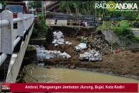 Ambrol, Plengsengan Jembatan Jlurung, Bujel, Kota Kediri
