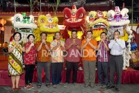 Perayaan Festival Cap Go Meh, Disediakan Seribu Lontong Gratis.