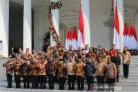 Presiden Umumkan Nama-Nama Kabinet Indonesia Maju
