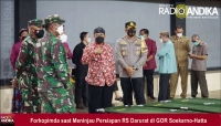 Kasus Covid Melonjak, GOR Soekarno-Hatta Blitar Diubah Jadi RS Darurat Covid-19