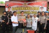 Dua Pelaku Pembobol Rumah, Diamankan Polres Blitar Kota