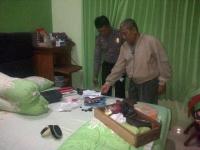 Rumah Dalam Keadaan Kosong Menjemput Anak, Dibobol Maling Rugi Puluhan Juta.