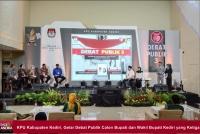 KPU Kabupaten Kediri, Gelar Debat Publik Calon Bupati dan Wakil Bupati Kediri yang Ketiga