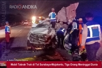 Mobil Tabrak Truk di Tol Surabaya-Mojokerto, Tiga Orang Meninggal Dunia