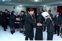 Walikota Kediri, Lantik Puluhan Pejabat Eselon III