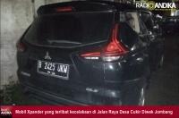 Putar Balik, Xpander Tertabrak NMax di Diwek Jombang