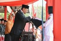 Walikota Kediri, Menjadi Inspektur Upacara Hari Kemerdekaan RI ke 74