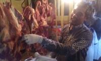 Dinas Ketahanan Pangan Dan Pertanian Kota Kediri Sidak Daging Antisipasi Antrax.
