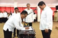 Adanya Perubahan Nomenklatur, Walikota Kediri Lantik Puluhan Pejabat Administrator dan Pengawas