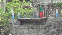 Banjir Bandang Putuskan Jembatan Antar Dusun di Nganjuk