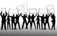 Kediri Raya Bergerak, Geruduk Kantor Pemerintahan Kabupaten Kediri
