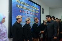Walikota Kediri Kukuhkan Pengurus Himpunan Pelatihan.