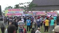 Jagung Langka dan Mahal, Ribuan Peternak Demo di Pemkab Blitar
