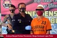 Anaknya Menjadi Korban Pencabulan, Warga Gandusari Lapor Polisi
