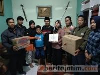 Korban Gempa Palu di Mojokerto Terima Bantuan