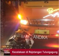 Kecelakaan Beruntun di Rejotangan Tulungagung, Dua Korban Luka - Luka