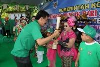 Hari Anak Nasional, Ratusan Anak Padati Selomangleng