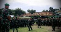 Pangdam 5 Brawijaya Cek Kesiapan Anggota Yonif 521 Kediri Sebelum Bertugas Di Daerah Perbatasan Kalimantan