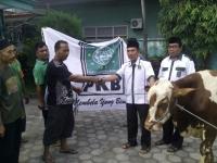 PKB Kabupaten Kediri, Berbagi Daging Qurban Pada Masyarakat.