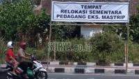 Jika Eks PKL Bangun Kios Lagi di Jl Mastrip Blitar, Ini Langkah Satpol PP
