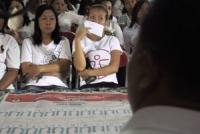 WPS Semampir Latihan Nyoblos Surat Suara Pileg 2014