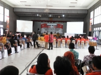 KPU Kabupaten Kediri, Gelar Rekapitulasi hasil penghitungan suara.