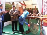 Walikota Kediri, Buka Pameran UMKM
