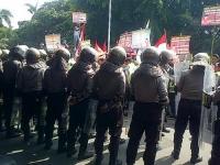 Ribuan Warga Kembali Demo Bupati Kediri Tuntut Pencopotan Kades