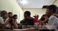 TMMD di Mojokerto, Prajurit Ngajar SD
