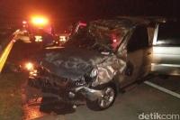 Kecelakaan Beruntun di Tol Mojokerto-Jombang, 2 Tewas dan 3 Luka