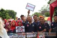 Ratusan Warga Kediri Karnaval Solidaritas ODHA