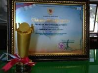 Kota Kediri, Kembali Raih Penghargaan Wahana Tata Nugraha.