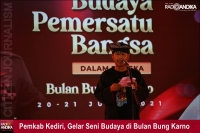 Pemkab Kediri, Gelar Seni Budaya Dalam Rangka Bulan Bung Karno