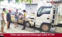 Mobil Vs Truk di Kandat Kediri, Dua Korban Luka-luka