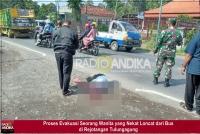 Nekat Loncat Dari Bus, Wanita Asal Blitar Luka Parah di Rejotangan Tulungagung