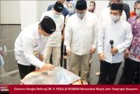 Masjid Megah Pendiri JNE, Diresmikan Gubernur Bangka Belitung